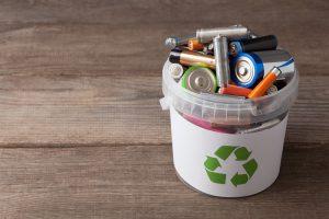 פינוי פסולת אלקטרונית סוללה חשמלית